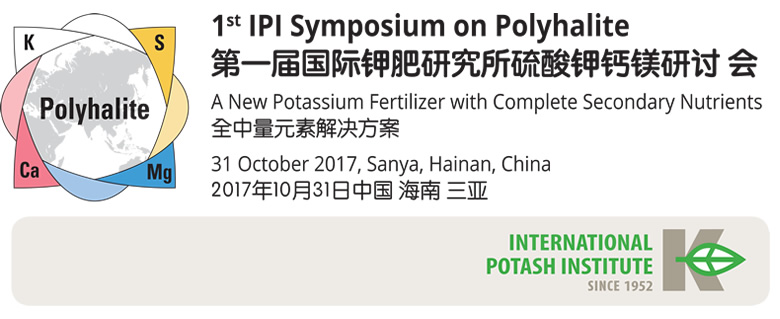 IPI to hold 1st Symposium on Polyhalite - natural fertilizer